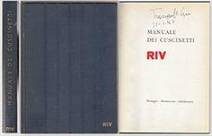 Amazon.it: Manuale dei cuscinetti - RIV - Libri