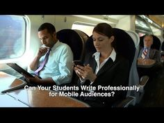 Can Your Students Write Professionally for Mobile Audiences? Business Writing, Writing Challenge, Textbook, Revolution, Communication, Infographic, Students, Challenges, Author