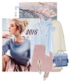 """""""Happy New Year!"""" by chebear ❤ liked on Polyvore featuring By Malene Birger, Altuzarra, Giambattista Valli, MDS Stripes, The Cambridge Satchel Company, Oasis, Ice, happynewyear and pantonecoloroftheyear"""