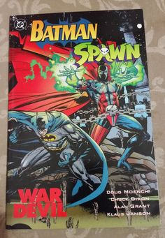 Find the value of the DC comic Batman/Spawn: War Devil one-shot. What is your Batman/Spawn: War Devil comic book worth? Rare Comic Books, Comic Books For Sale, Online Comic Books, Comic Book Covers, Dc Comics, Spawn Comics, Batman Comics, Image Comics, Spawn 1
