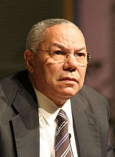 Today in Black History, 4/5/2013 - Colin L. Powell became the first African American U.S. Secretary of State in 2001, serving until 2004. (Photo by Charles Haynes) For more info, check out today's notes!