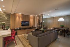 sala linda integrada estilo contemporaneo