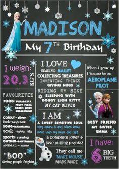 Magic Milestone - Birthday Chalkboard D16