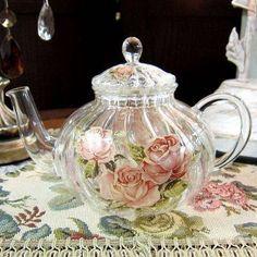 Glass Teapot.  Nov 15 13 <3