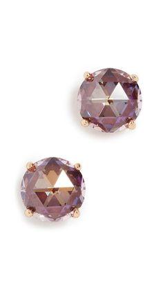 Kate spade bright idea earrings in berry NWT Kate Spade Earrings, Cute Earrings, Beautiful Earrings, Cute Jewelry, Jewelry Accessories, Fashion Jewelry, Women Jewelry, Smokey Topaz, Heart Ring