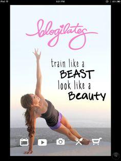 Blogilates app! Fitness videos, healthy recipes....love love love.
