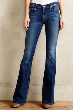 Mother Cruiser Flare Jeans #anthropologie