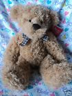 "For Sale - Russ Berrie - Spriggs 14"" Tan Teddy Bear Plush w/ Tag"