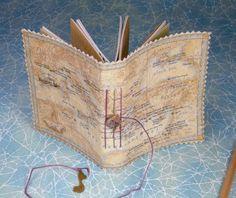 Mini Travel Journal w/Treasure Map Cover. $12.00, via Etsy.