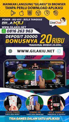 bonus new member 20 ribu Poker Online, Dan