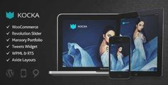 Download and review of Kocka - Flexible and Powerful WordPress Theme, one of the best Themeforest eCommerces themes