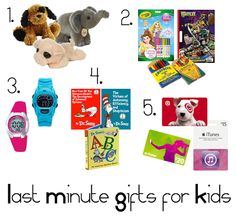 Last minute gift ideas for kids - 5 items to have on hand in case of last-minute needs!