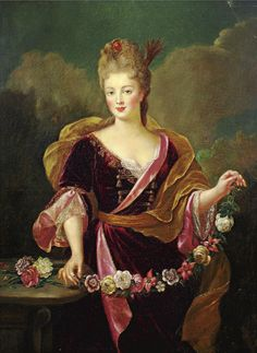 Adrienne LECOUVREUR (1692-1730), French actress, early 18th century, French school