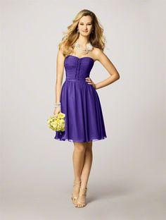 Purple Storm Bridesmaid Dresses