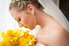 Joyce enjoying her beautiful bouquet at Viva Wyndham Bridal Portraits, Teaser, Bouquet, Wedding Photography, Gallery, Beautiful, Fashion, Moda, Roof Rack