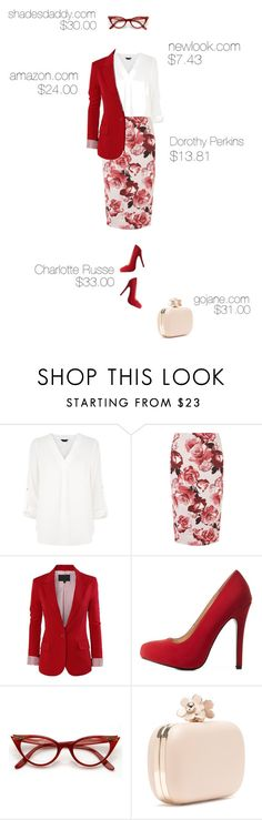 """Work Wear: In Affordable Chic"" by beautybybri ❤ liked on Polyvore featuring Dorothy Perkins and Charlotte Russe"