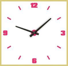 este es un reloj de pared adecuado para la cocina