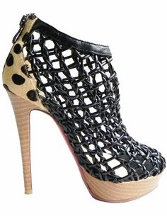 cheap louboutin shoes knockoffs - christian louboutin pleated round-toe booties, replica shoes ...