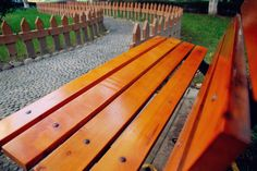 Wooden Bench,Love Story.