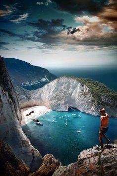 10 Paradise Beaches In Greece Navagio Beach - Tomas Possenti Navagio Beach - Zakynthos - Greece - Beach - ParadiseNavagio Beach - Tomas Possenti Navagio Beach - Zakynthos - Greece - Beach - Paradise Dream Vacations, Vacation Spots, Places To Travel, Places To See, Travel Destinations, Places Around The World, Around The Worlds, To Infinity And Beyond, Greece Travel