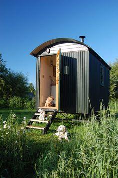 Shepherds hut by Plankbridge