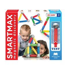 Set de construction magnétique Start 23 pièces Smartmax pour enfant de 1 an à 3 ans - Oxybul éveil et jeux