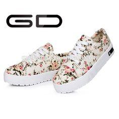 2015 hot venda Coreano feminino plataforma padrão floral lace-up tênis para adolescentes-Sapatos formais-ID do produto:60231633769-portuguese.alibaba.com