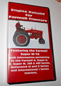 Ford 4000 tractor engine rebuild tractors pinterest engine ih farmall tractor hm300400superstractor engine rebuild vhs guide manual fandeluxe Choice Image