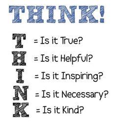THINK Principle