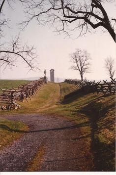 The Sunken Road, Antietam Battlefield