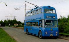 trolley bus 3 Routemaster, Walsall, Double Decker Bus, Garage Art, Bus Coach, Busses, West Midlands, Public Transport, Birmingham