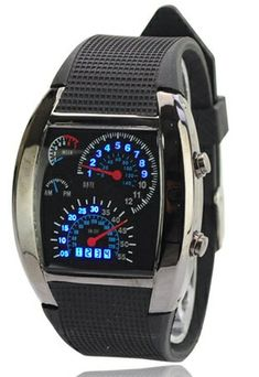 Max Speed Speedometer Car Watch puts a racy dashboard on your wrist