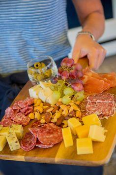 Klassiek kaas- en vleesplankje #food #cheese