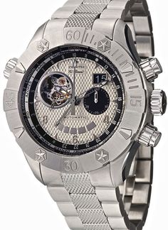 Zenith automatic men's watch with multi function. From €13800 for €10349 . See more at - http://www.megawatchoutlet.com/heren/zenith.html