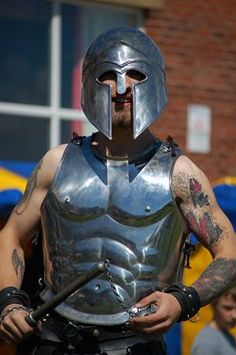 want your own gladiator warrior at your event?