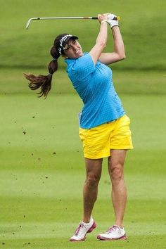 Top Golf training aids can often give you that little extra help to improve your game of golf. They are available for every aspect of the game - your sw. Girl Golf Outfit, Cute Golf Outfit, Girls Golf, Ladies Golf, Gerina Piller, Lpga Golf, Famous Golfers, Sexy Golf, Golf Training Aids