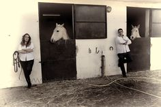 #novios #preboda #caballos