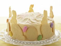 Easter Bunny Lemon Raspberry cake!