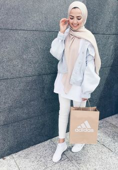 New Fashion Hijab Style Chic Shoes Ideas Modern Hijab Fashion, Street Hijab Fashion, Hijab Fashion Inspiration, Islamic Fashion, Muslim Fashion, Modest Fashion, Trendy Fashion, Hijab Casual, Hijab Outfit