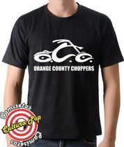 Camiseta Estampada Discovery Channel American Choppers OCC.