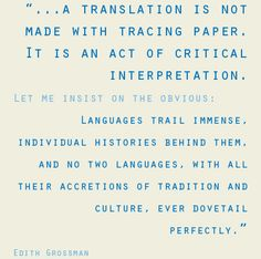 A translation is not made with tracing paper... #translation #language #xl8 #quote