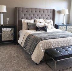 88 Best Grey Headboard Images In 2019 Bedroom Decor Dream Bedroom