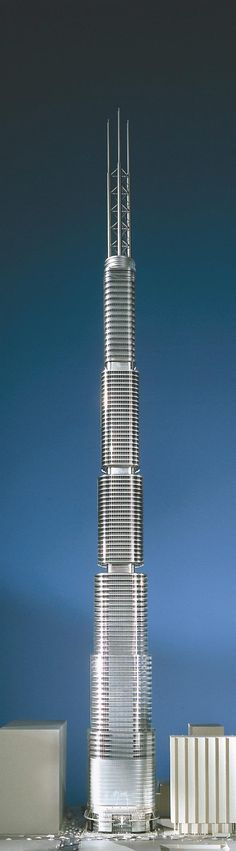 Architectural Model - 7 South Dearborn, Chicago - SOM