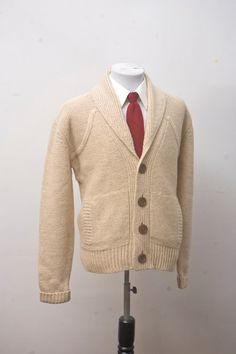 Shawl Collar Sweater.