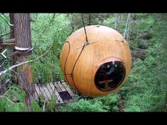 Wooden Sailboat Building meets TREE HOUSE DESIGNS?- Free Spirit Sphere Tiny Orb Cabins - YouTube - To connect with us, and our community of people from Australia and around the world, learning how to live large in small places, visit us at www.Facebook.com/TinyHousesAustralia or at www.tumblr.com/blog/tinyhousesaustralia