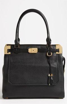 Michael Kors 'Blake' Leather Satchel available at #Nordstrom