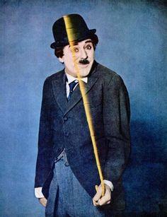 Cary Grant as Charlie Chaplin.