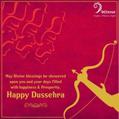 Dussehra greeting cards done by iacg students dusshera greeting may divine blessings be showered upon you and your days filled with happiness prosperity m4hsunfo