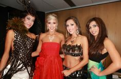 The ALIST brings you all the photos before the contest even begins, and finds all the girls very relaxed backstage..