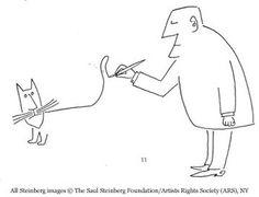 Illustration by Saul Steinberg. °
